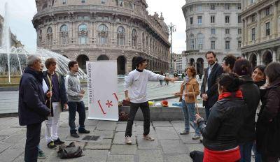 clown atrito festivalscienza genova2011