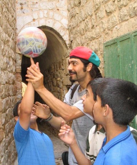 Animazione Hebron Palestina 2004